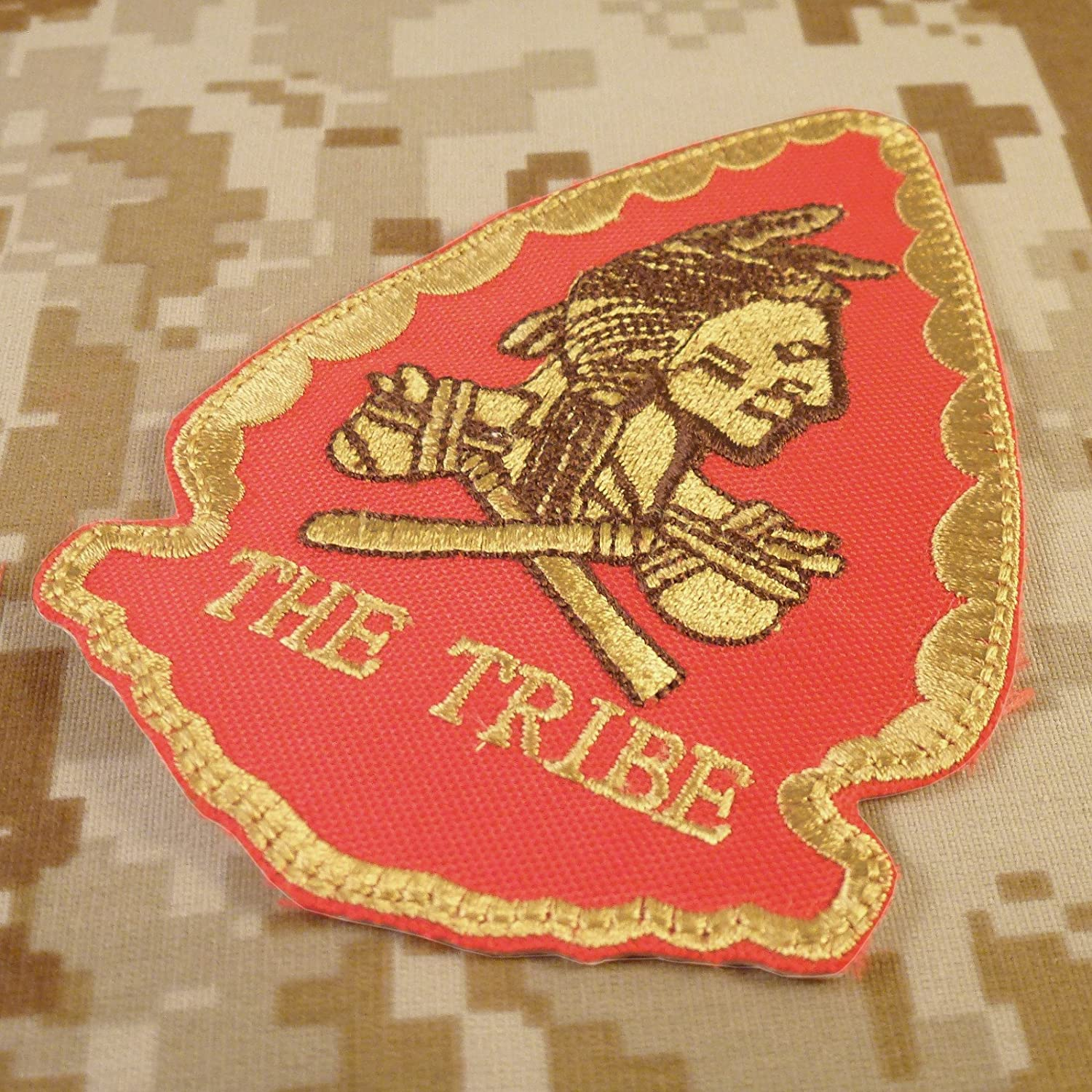 US Navy Seals Red Team Squadron THE TRIBE Morale DEVGRU Fastener Patch