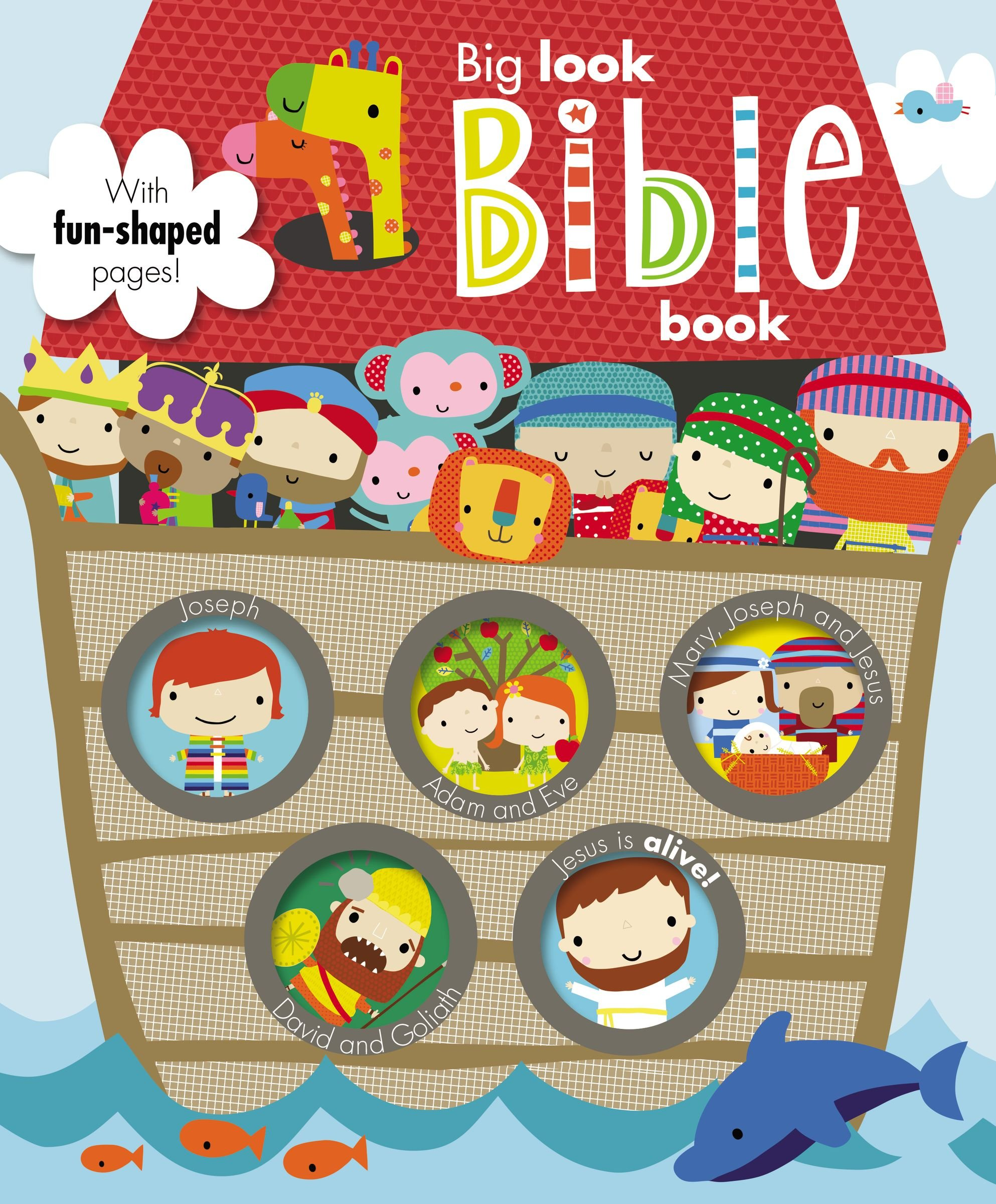 Download Big Look Bible Book: Make Believe Ideas pdf