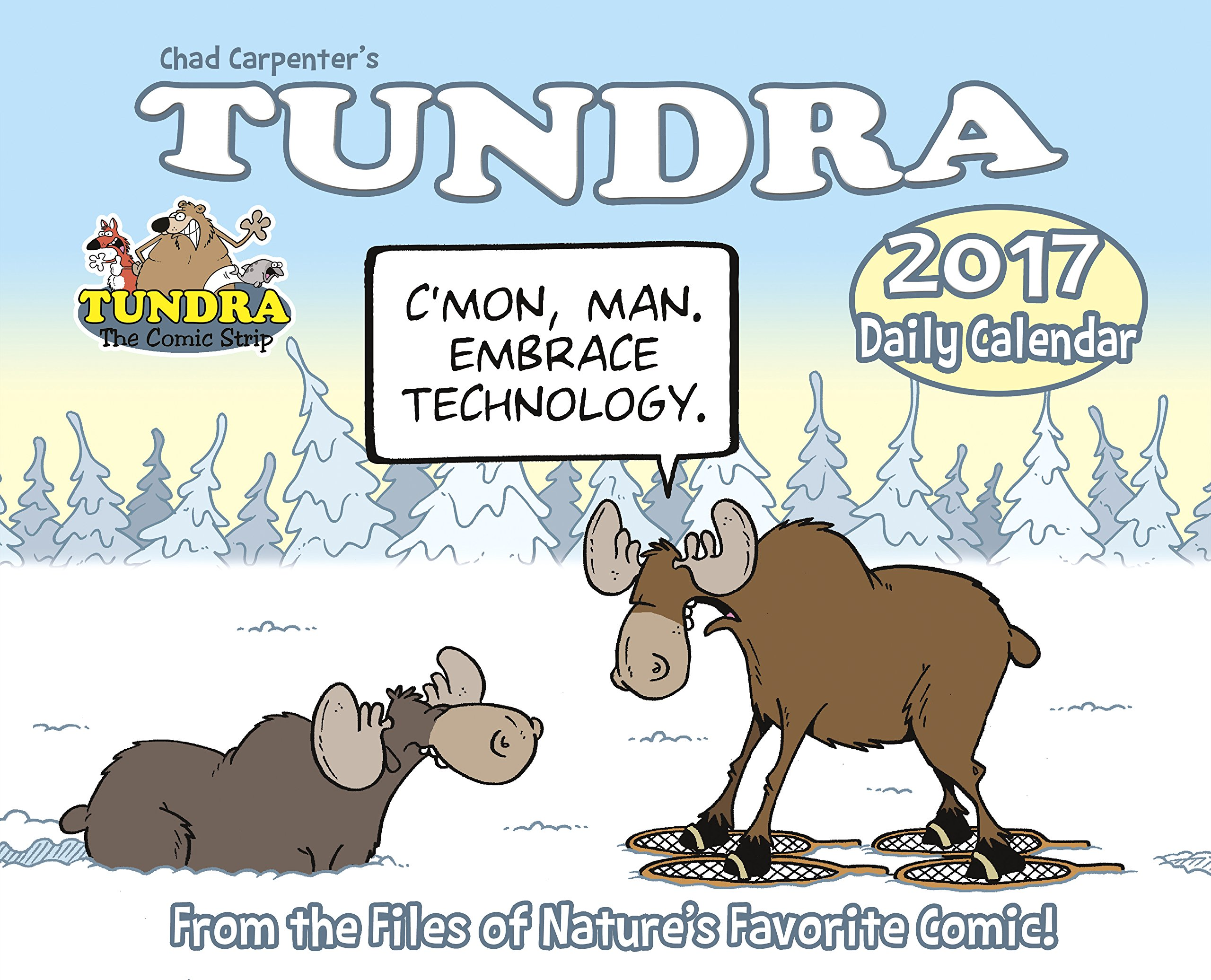 tundra 2017 box calendar chad carpenter 9781682342695 amazon com