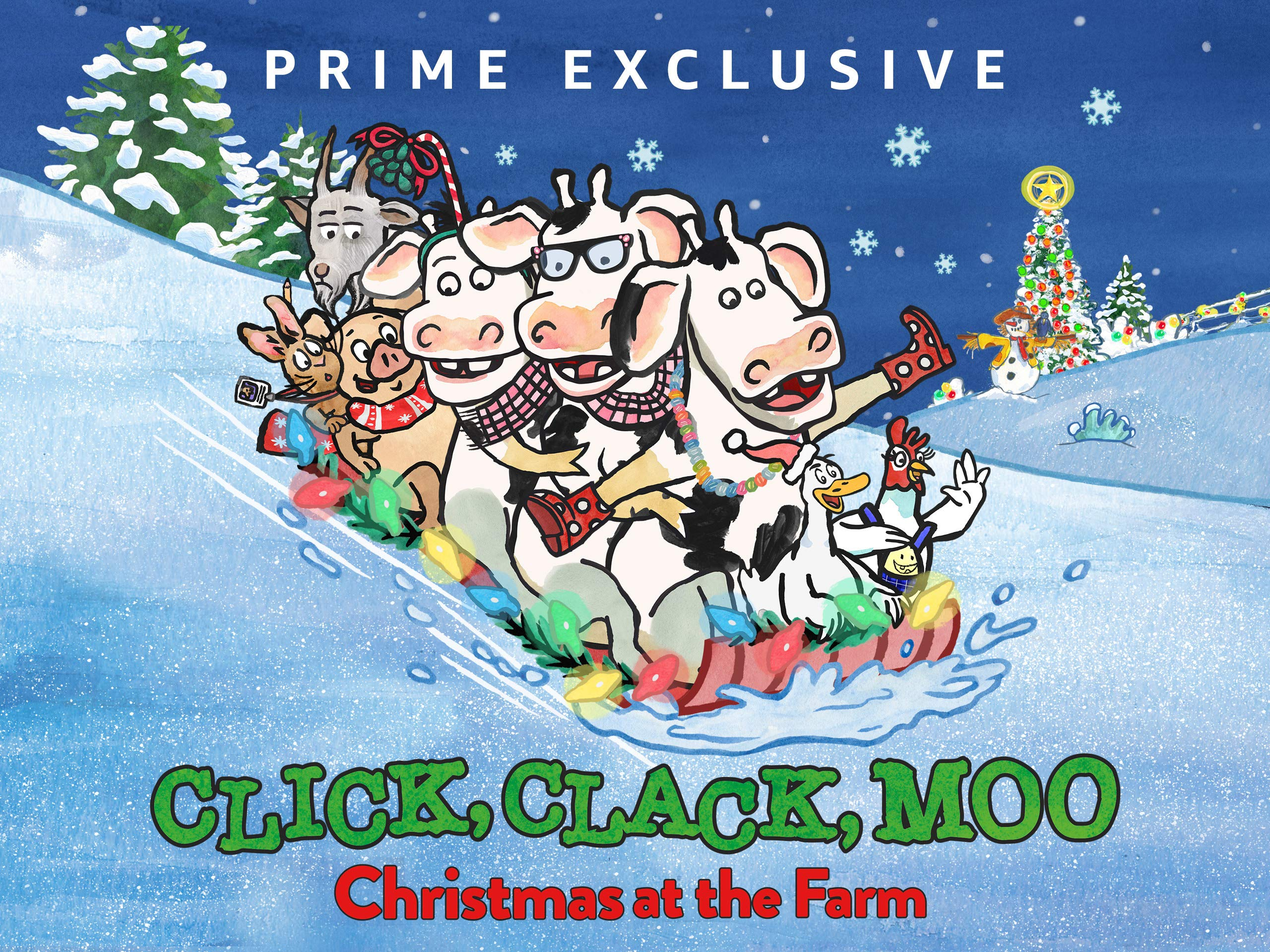 Click, Clack, Moo: Christmas at the Farm on Amazon Prime Video UK