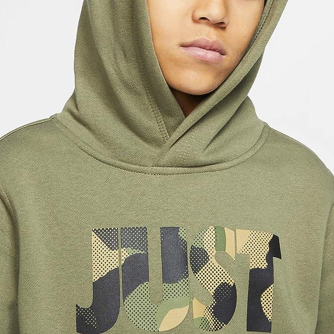 Nike Boys Sports Wear NSW Club JDI Camo Hoodie Cq4296-078