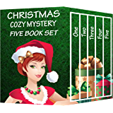 Christmas Cozy Mystery Five Book Set