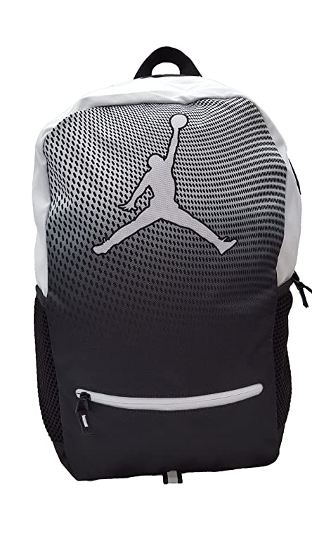 ac8fb6647d3 Amazon.com: Nike Jordan Jumpman Youth Backpack (One Size, Black ...