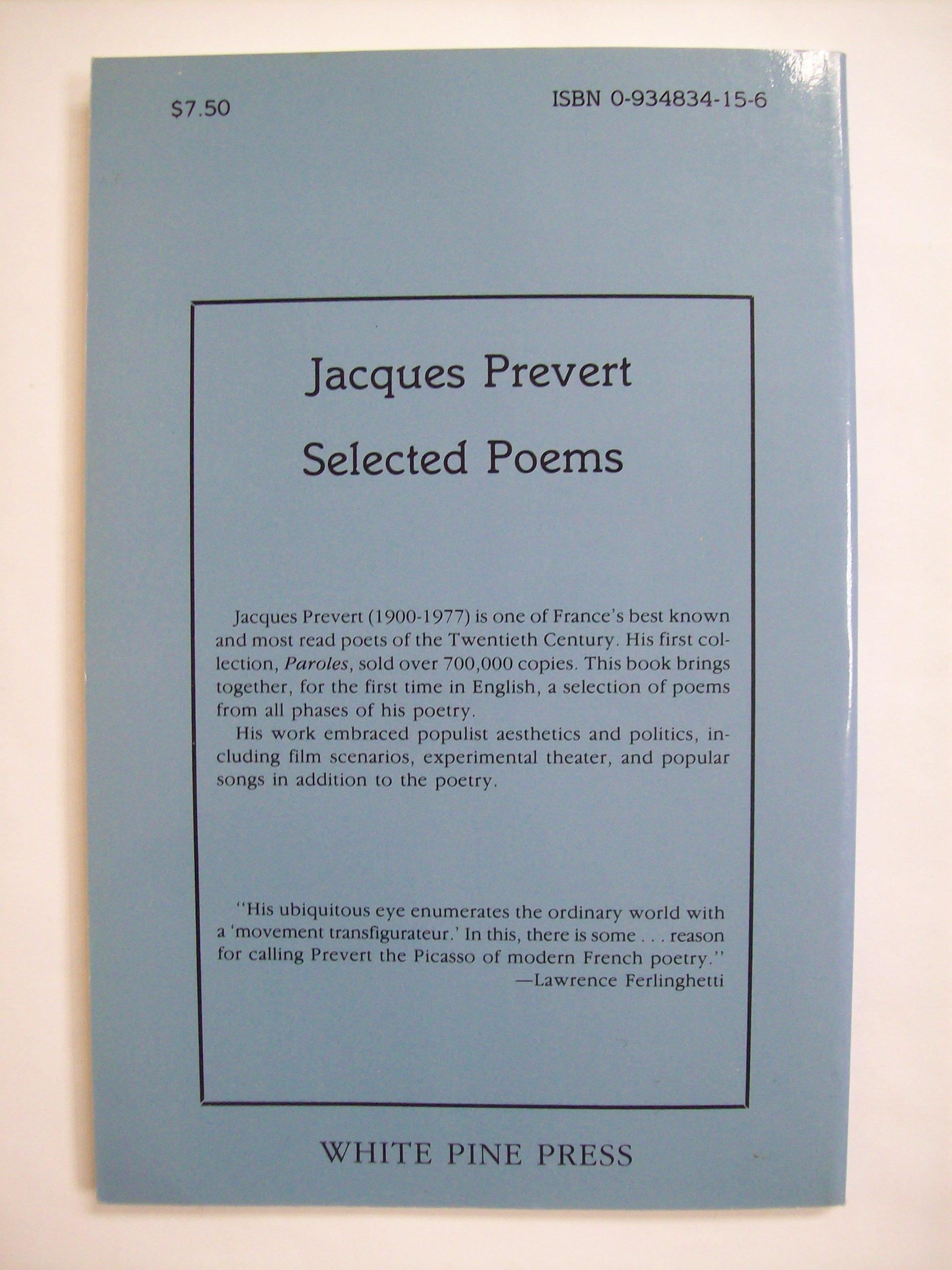 Jacques Prevert Poems 7
