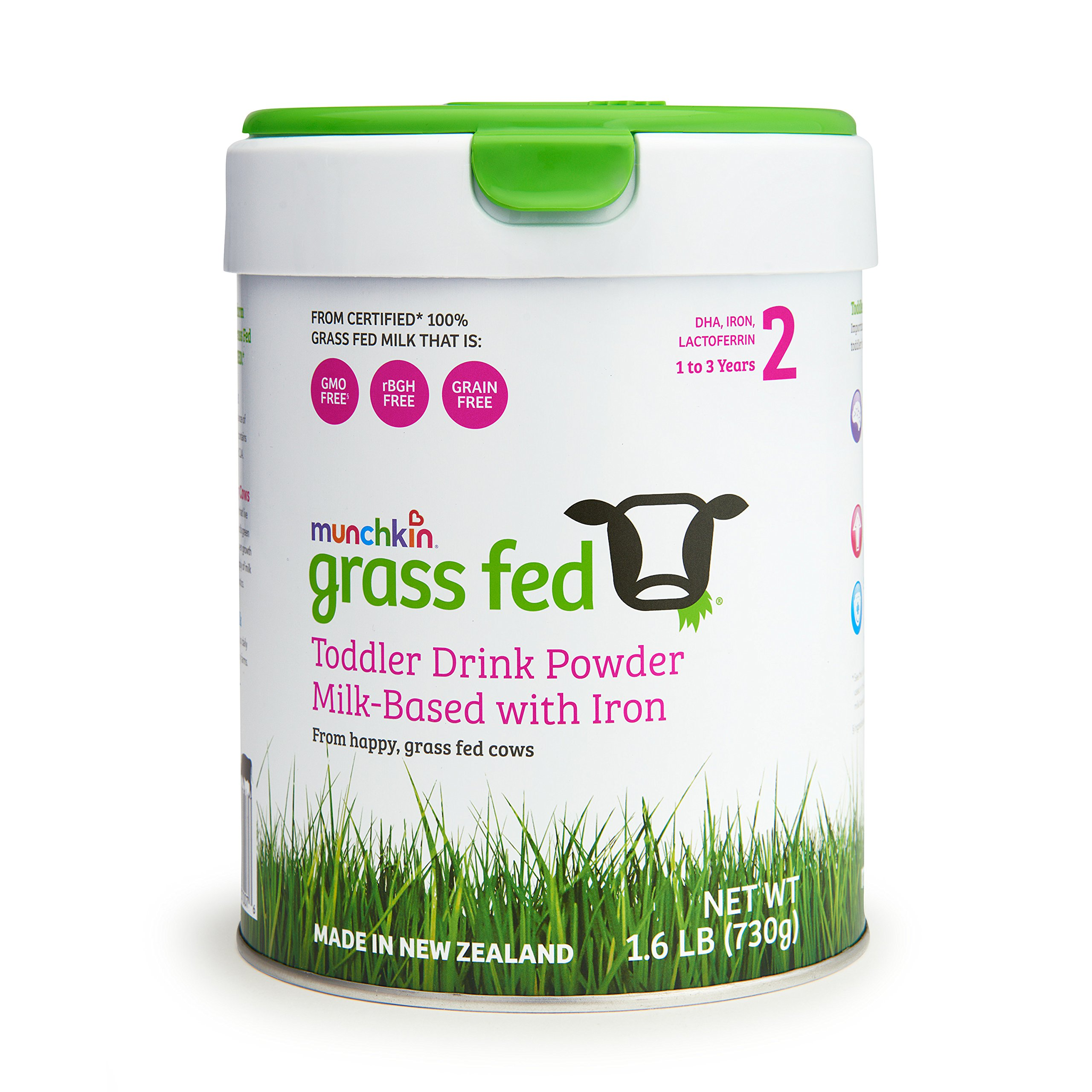 Munchkin Grass Fed Toddler Milk Drink, 1-3 Years, 25.75 Ounce