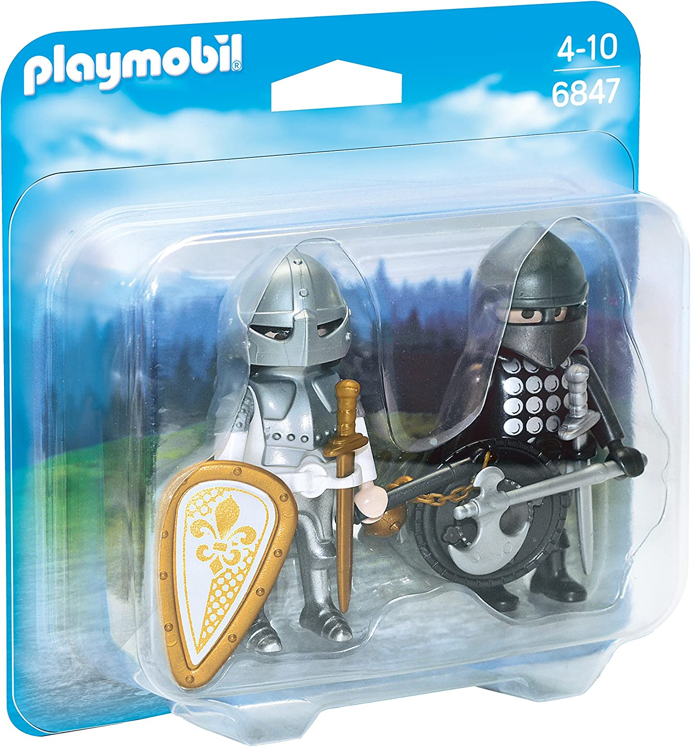 PLAYMOBIL Duo Pack- Knights Rivalry Duo Pack Figura con ...