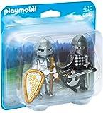 Playmobil 6847 - Jeu - 2 Chevaliers - Noir/Argent