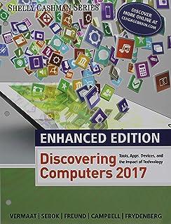 Bundle Enhanced Discovering Computers C2017 Loose Leaf Version SAM 365