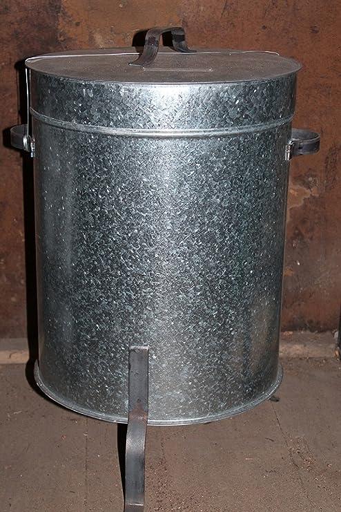 Apagar Brace para chimenea y horno de leña - Puerta Carbón: Amazon ...