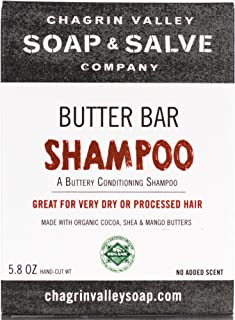 product image for Chagrin Valley Soap & Salve - Organic Natural Shampoo Bar - Butter Bar Conditioner