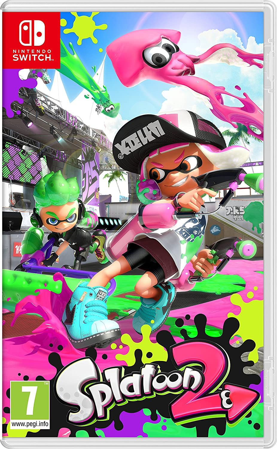 Splatoon 2, Nintendo Switch, Video Juego: Amazon.es: Electrónica