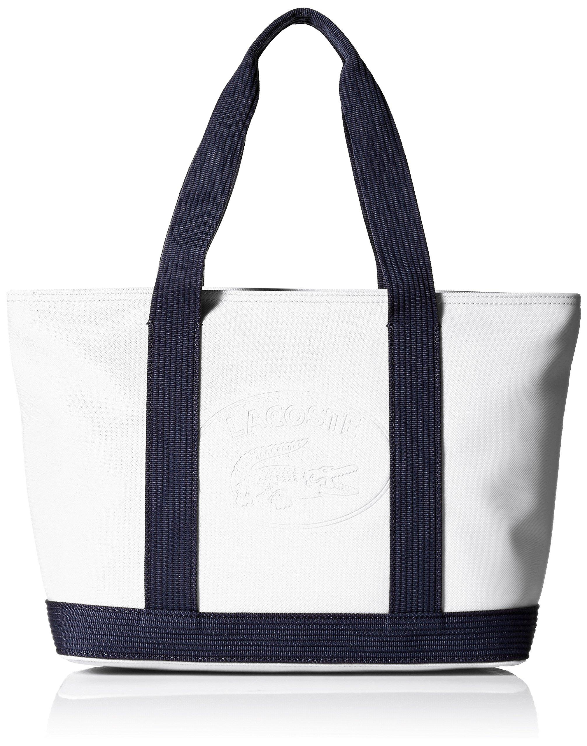 Lacoste Medium Shopping Bag, Nf2416wm, White Peacoat