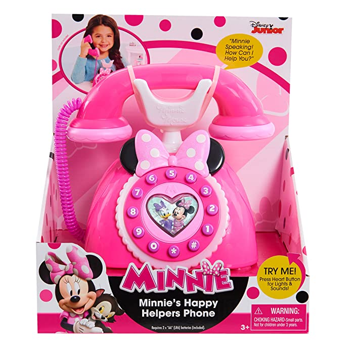 MINNIE Happy Helpers Phone - styles may vary