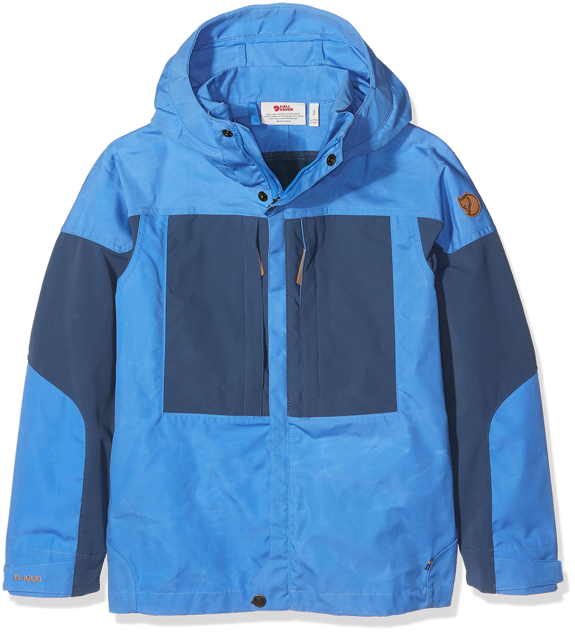 Fjallraven Kids Keb Jacket, Un Blue, 134