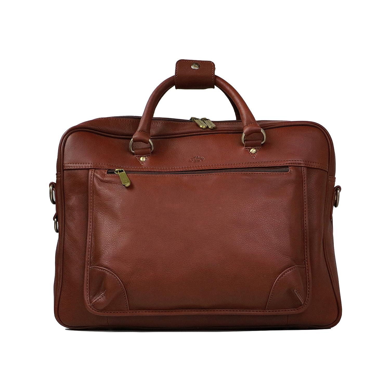 Laptop messenger bag KATANA 34202 wild cowhide leather