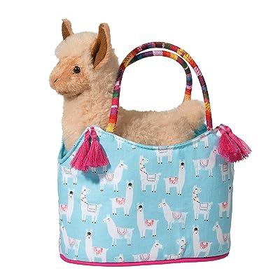 Douglas Fiesta Sassy Sak with Llama Plush Stuffed Animal: Toys & Games