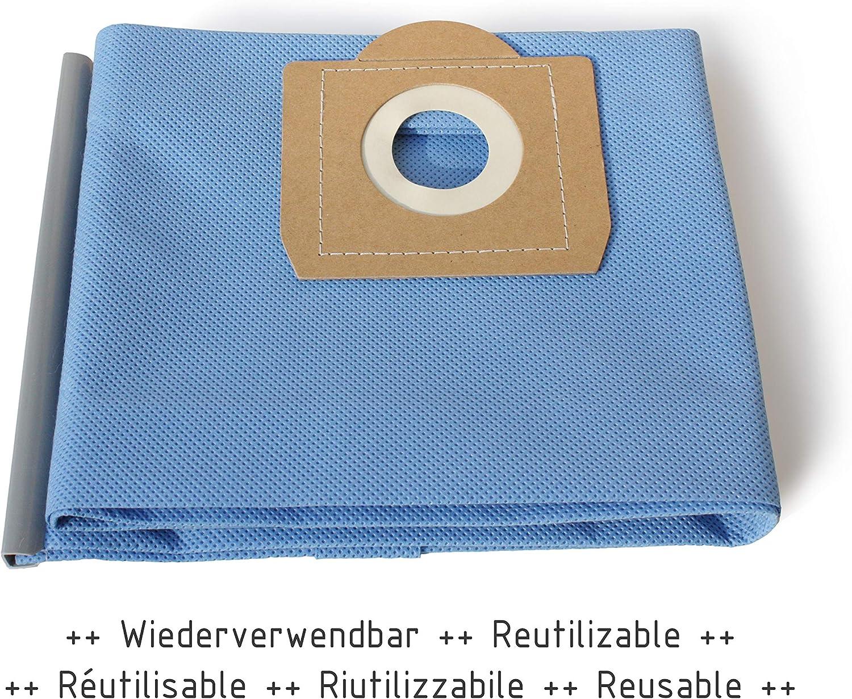 MI:KA:FI Bolsa de filtro reutilizable | para Kärcher Aspiradora en ...