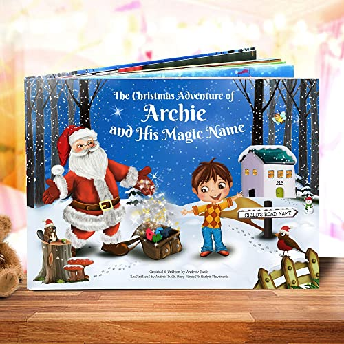 A Gift For Christmas Story.Personalised Children S Christmas Story Book Totally Unique Great Xmas Gift For Kids