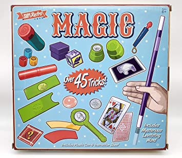 45 Trucos Magia Set Infantil Magos Caja Creativo Aprendizaje para ...