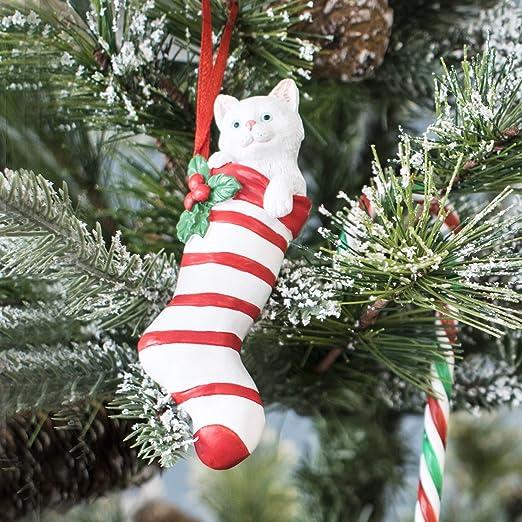 TRIXES - Decoración para árbol de Navidad, diseño de Gato en ...