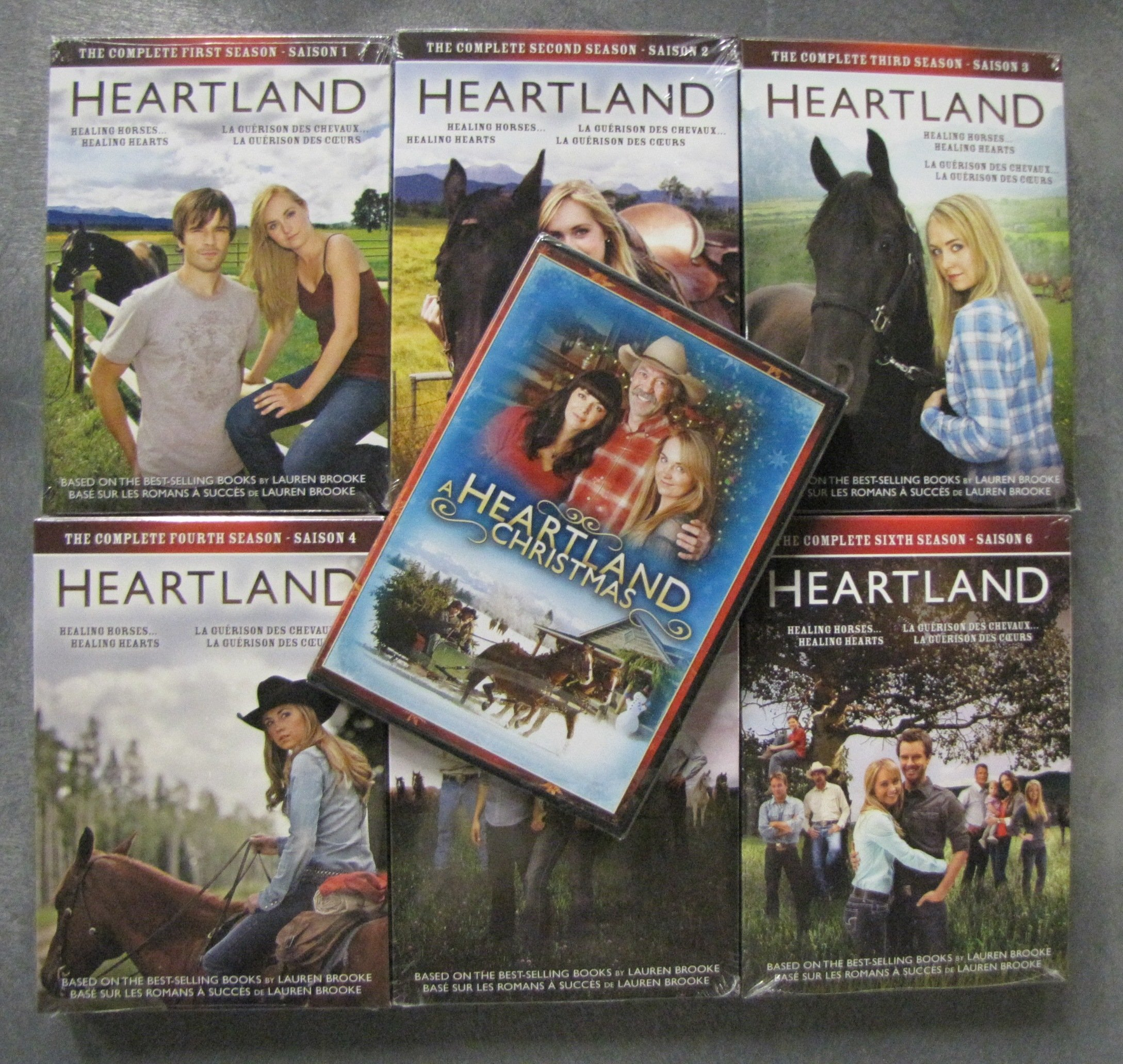 Heartland: Complete Seasons 1-6 and A Heartland Christmas by