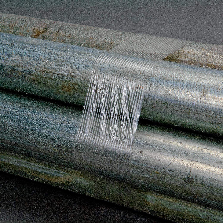 18 mm x 55 m 48 rolls per case Clear 3.75 mil Tartan Filament Tape 8932