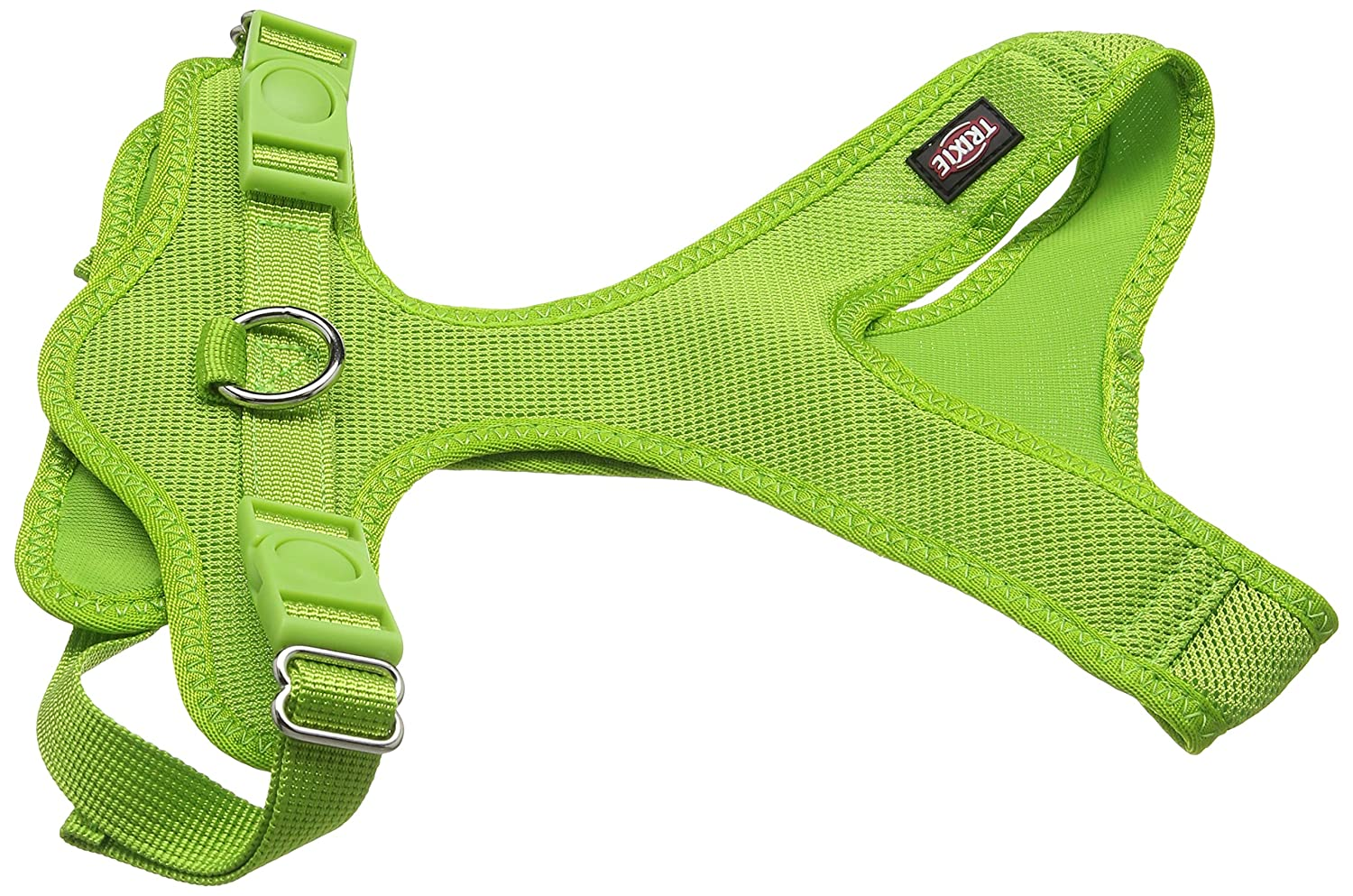 TRIXIE Suave Perro arnés, 35 – 60 cm x 20 mm, Verde: Amazon.es ...