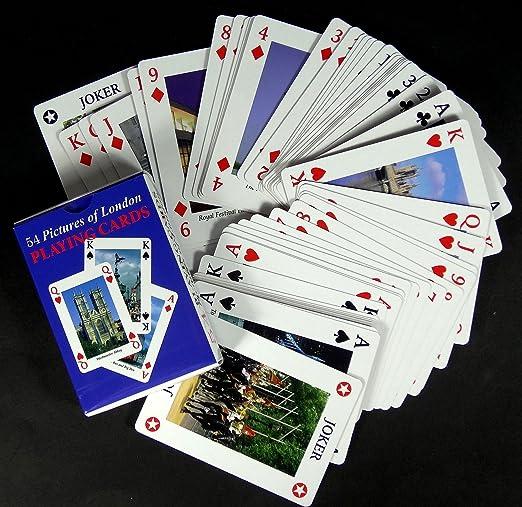 3 X London Playing Cards England British UK Souvenir Gift