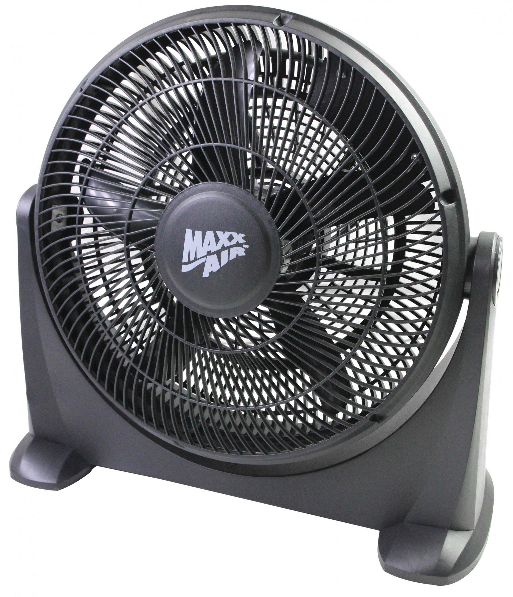 Maxxair HVFF 14P 14 Inch High Velocity Floor Fan, 120V