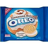 Oreo Cinnamon Bun Sandwich Cookies, 12.2 Ounce