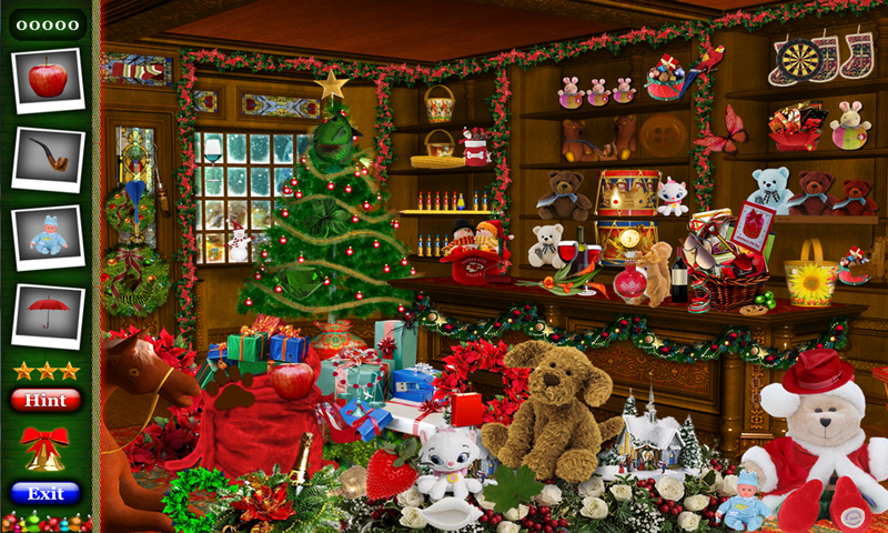 PlayHOG # 15 Hidden Objects Games Free New - Christmas