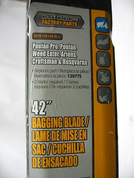 Outdoor Factory Parts 139775 - Cuchilla de Repuesto para ...