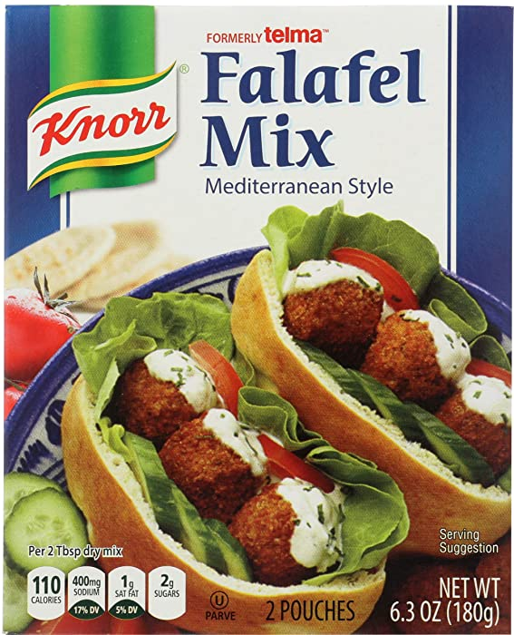 Knorr Kosher Falafel Mix, Mediterranean Style, 6.3 oz