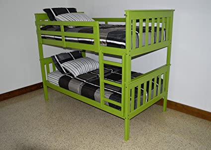 Amazon Com Best Bunk Beds For Kids With Ladder Twin Over Twin Bed