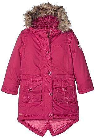 95eb56680 Regatta Girl's Totteridge Parka Waterproof Jacket - Dark Cerise, Size 3 - 4
