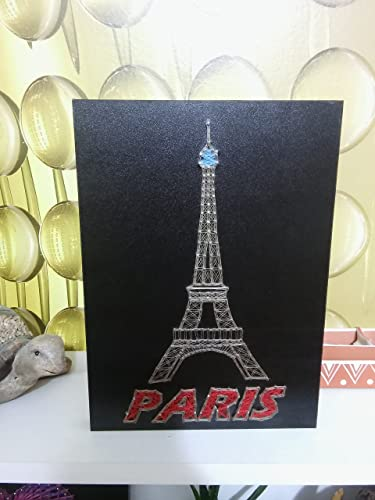 Amazon Eiffel Tower String Art Handmade Nails And Thread