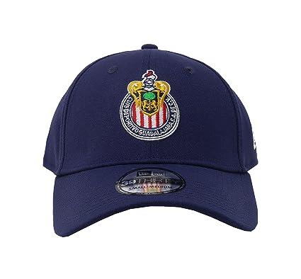 Amazon.com  New Era 39Thirty Hat Chivas De Guadalajara Oficial Liga MX  Soccer Flex Navy Blue Cap (Large X-Large)  Clothing 52636151638
