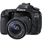 Canon デジタル一眼レフカメラ EOS 80D レンズキット EF-S18-55mm F3.5-5.6 IS STM 付属 EOS80D1855ISSTMLK