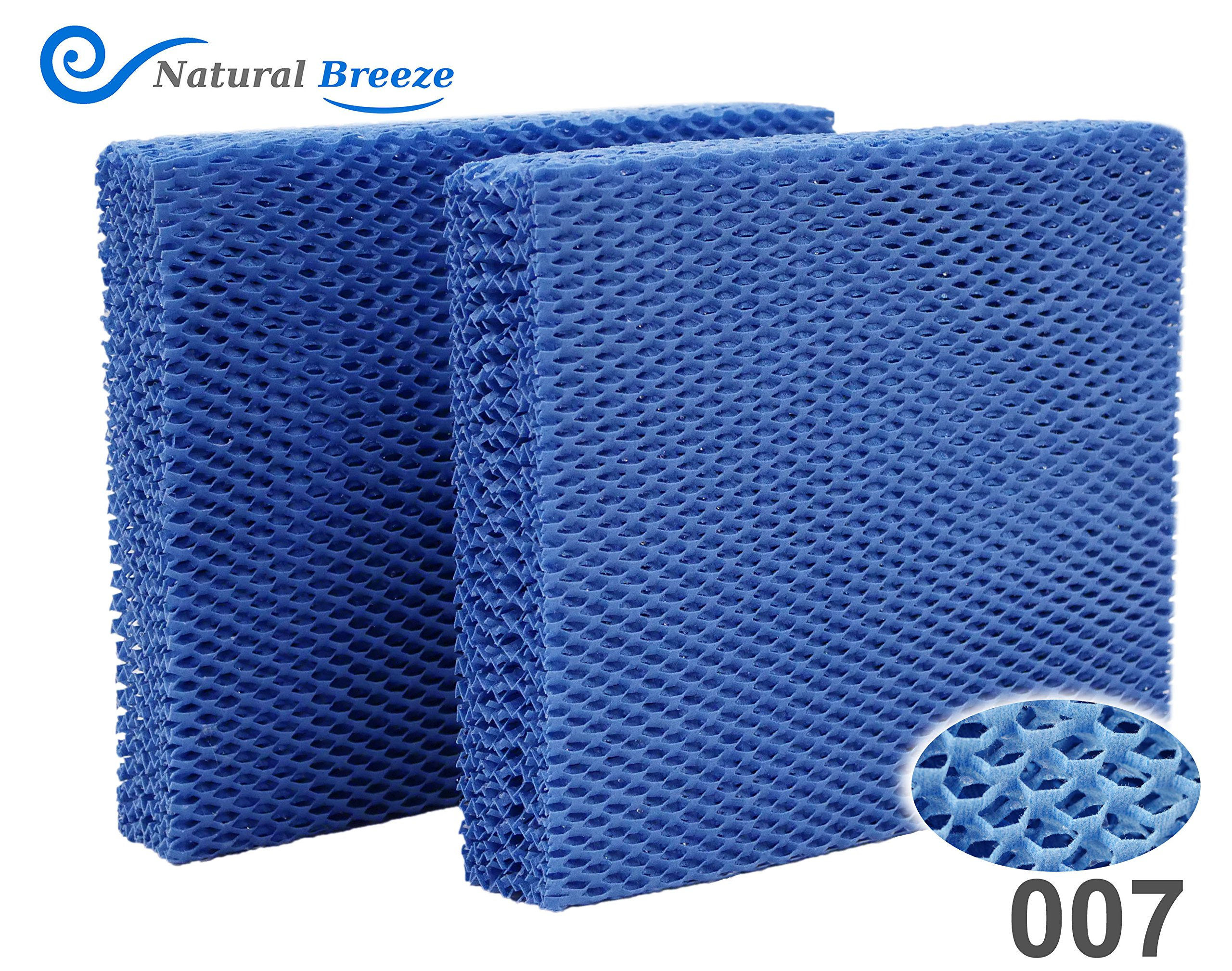 Natural-Breeze Compatible Replacement for Vornado Brand MD1-0001 Humidifier Filter MD1-0002, MD1-1002 Reusable