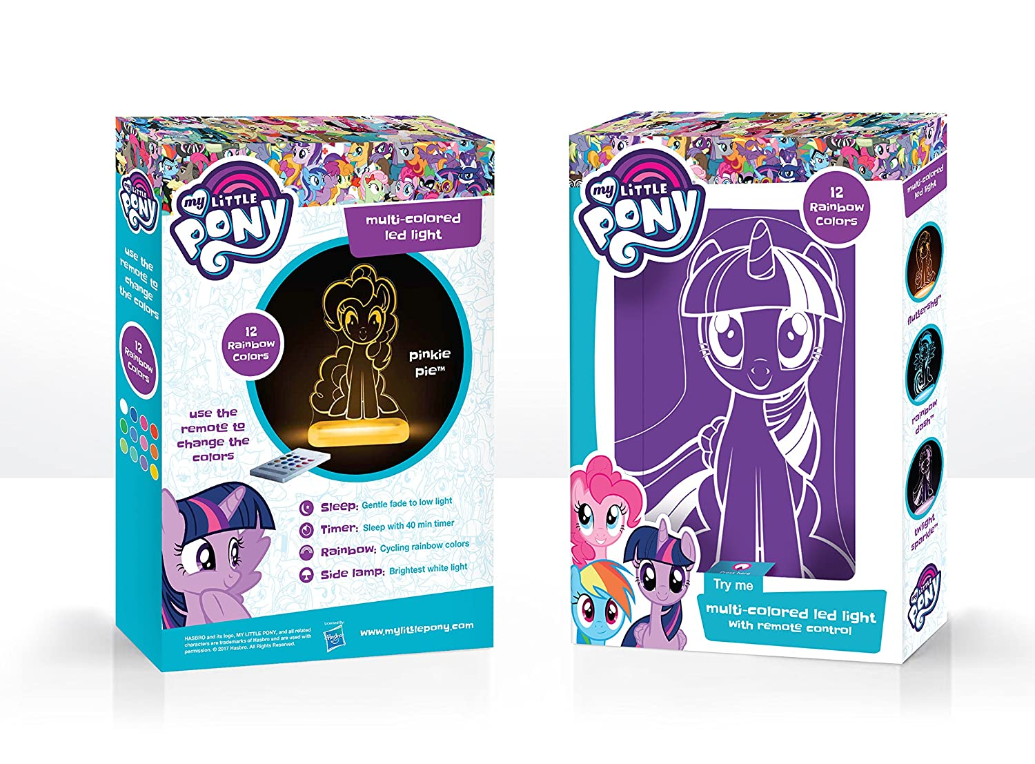 New Ship Fast Mlp Attractive Fashion My Little Pony Led Night Light Official Licensed Home & Garden