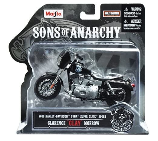"""2 opinioni per Sons of Anarchy: Harley-Davidson Dyna Clarence """"Clay"""" Morrow"""