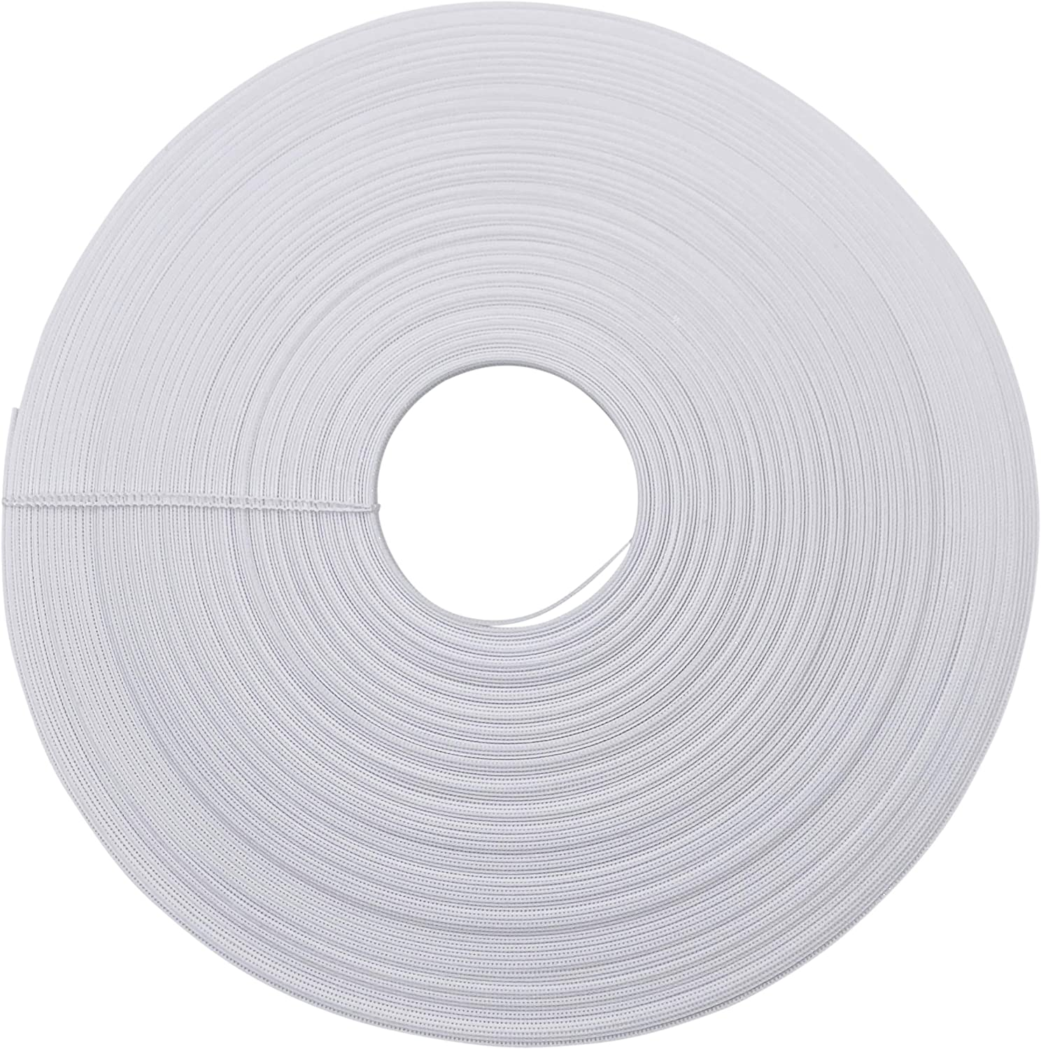 50yards // roll,Boning for Sewing Wedding Dresses,Corset Boning,Bridal Gowns,Banquet Dresses,Performance Clothes ,Nursing Cap,etc Polyester Boning,3//10 inch 8mm Wide White Boning