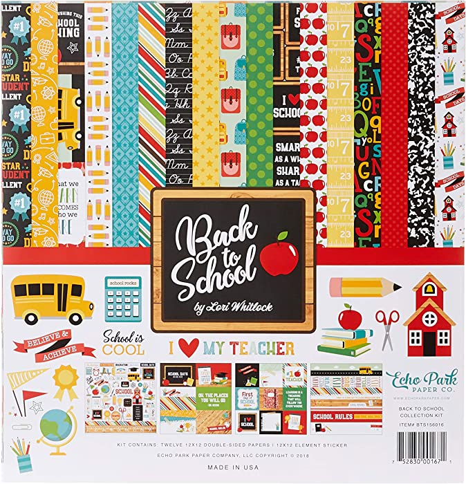 The Best Apple Themed Scrapbook Paper
