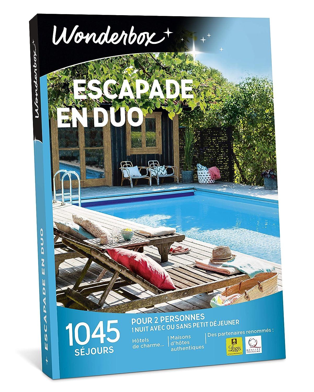 Wonderbox escapade en duo 1045 séjours d'une nuit en hôtels de charme, maisons d'hôtes authentiques, ferme vigneronne pour 2 personnes
