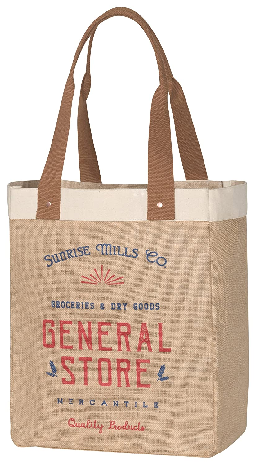 Now Designs Burlap Market Tote, Dry Goods Danica Imports Ltd. 3014003aa