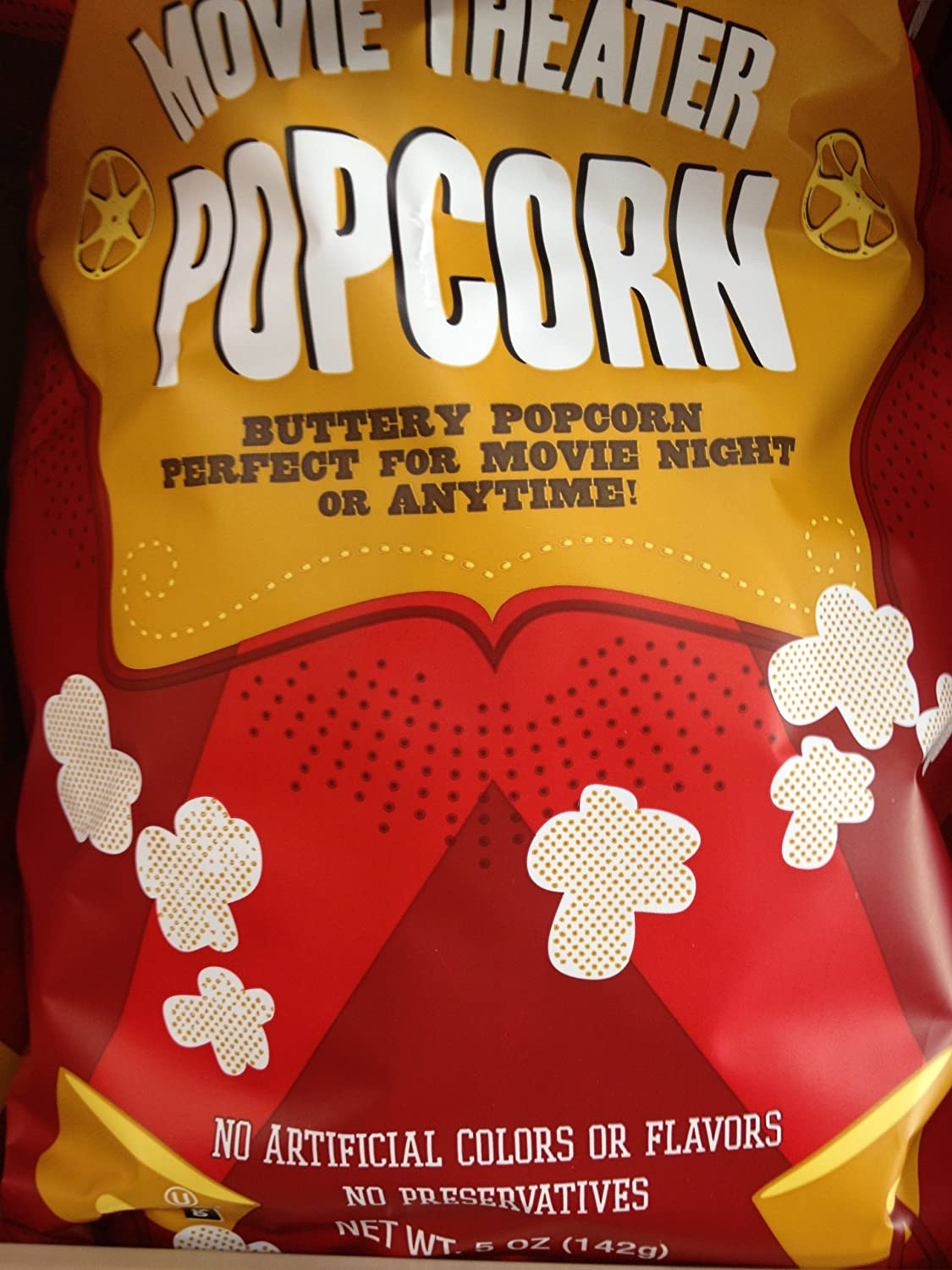 Amazon Com Trader Joe S Movie Theater Popcorn