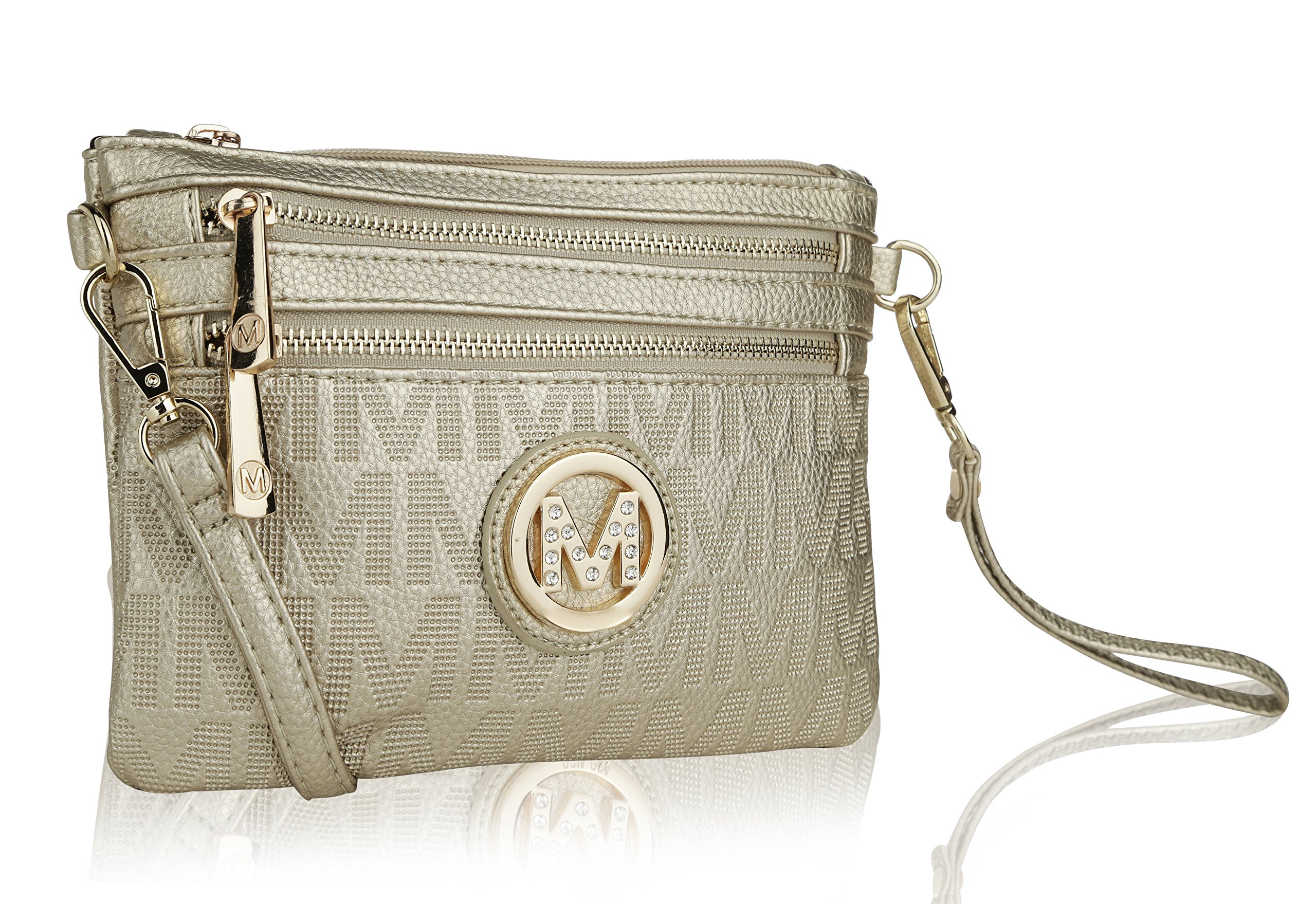 Wristlet Wallet Purse | MKF Collection Roonie Milan Signature Design