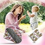 Dutchess Reusable Bamboo Cloth Menstrual Sanitary Pads 5 Pack Set - Regular to Medium Flow