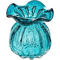 Vaso De Vidro Italy Tiffany 10x11cm Lyor Tiffany