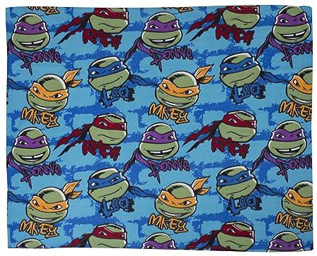 TMNT- Manta de Forro Polar, diseño de Las Tortugas Ninja ...